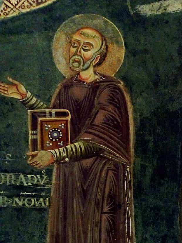Adraldo Abate di Breme (1060-1097) e poi vescovo di Chartres
