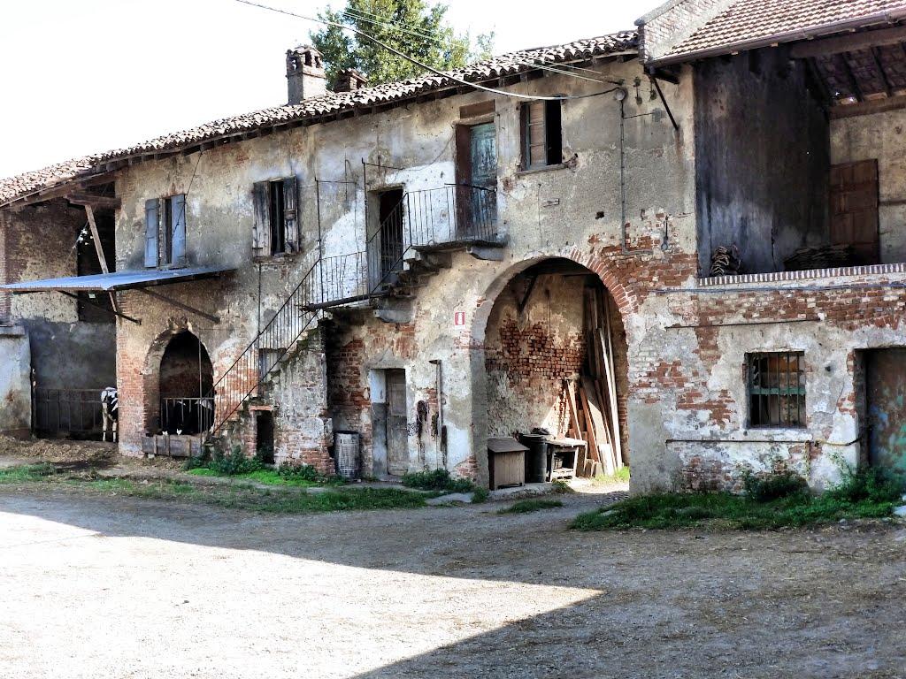 La cascina, erede delle antiche celle e gragie monastiche