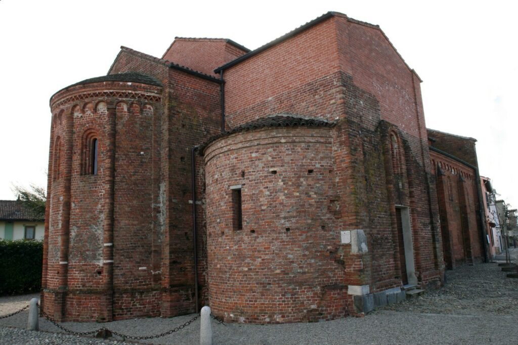 Robbio - Chiesa di San Valeriano (abside)