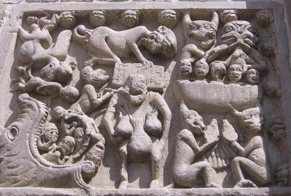 Inferno - Chiesa di Santa Maria Assunta, fine XII sec.